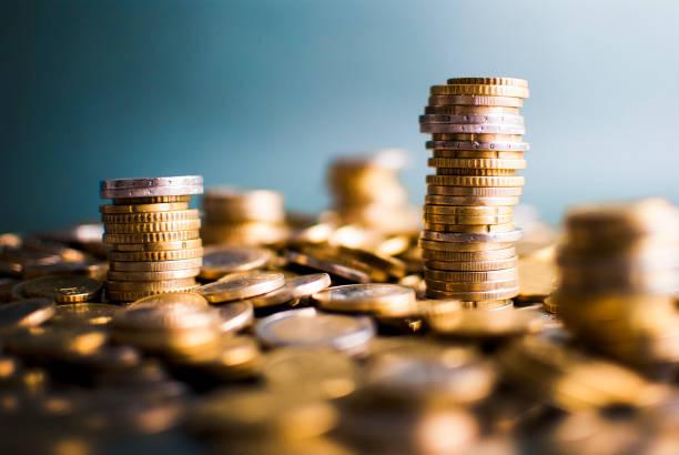 Geld in Münzen